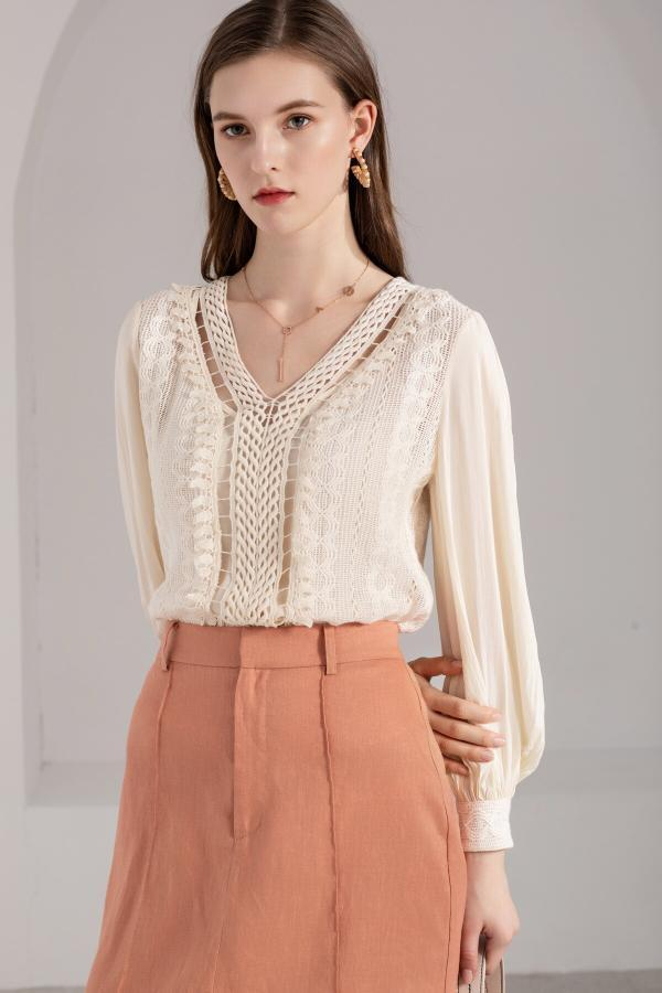 Azzura Crochet Blouse